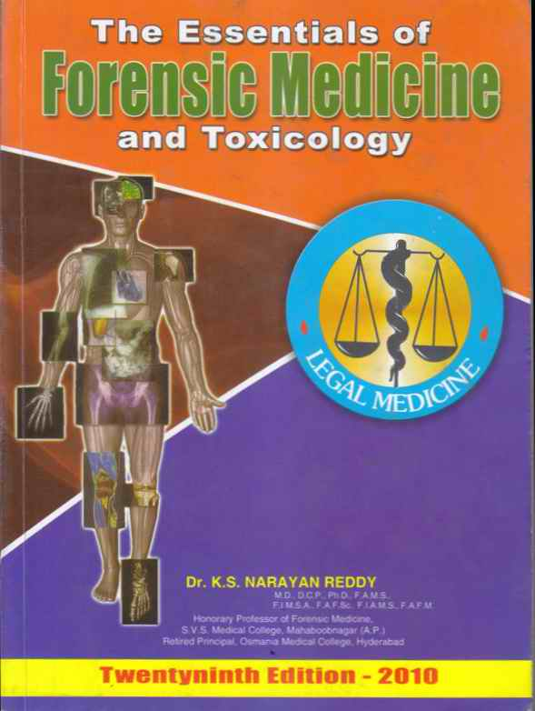 Technical Books On Forensic Science And Forensic Medicine Anil Aggrawal S Internet Journal Of Forensic Medicine Vol 13 No 2 July December 2012